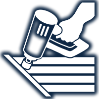Guard Gutter Installation Icon